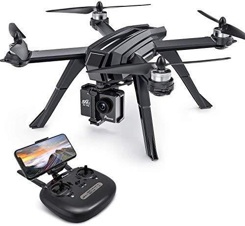 Potensic Drone Brushless GPS WiFi 5G con VideoCamera 2K FPV RC 130° Grandangolare Drone Professionale D85 con Funzione Seguimi, Headless per Camera C6000 C5000 C4000