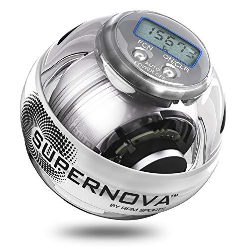 Powerball 250hz Giroscopio Attrezzo da Allenamento per Polso e Presa Mani (250 Hz Supernova PRO)