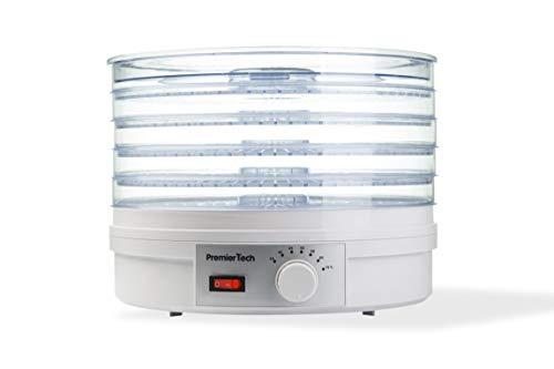 PremierTech Essiccatore 5 ripiani da 35 a 70 gradi 245 watt con ventola Disidratatore PT-DE5