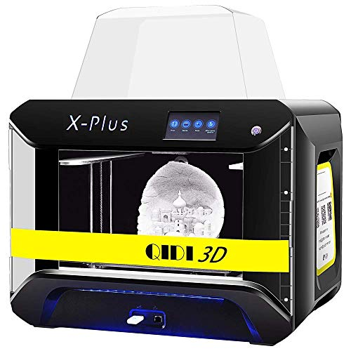 QIDI TECH Large Size Intelligent Industrial Grade Stampante 3D Printer New Model:X-Plus,WiFi Function,High Precision Printing with ABS,PLA,TPU,Flexible Filament,270x200x200mm