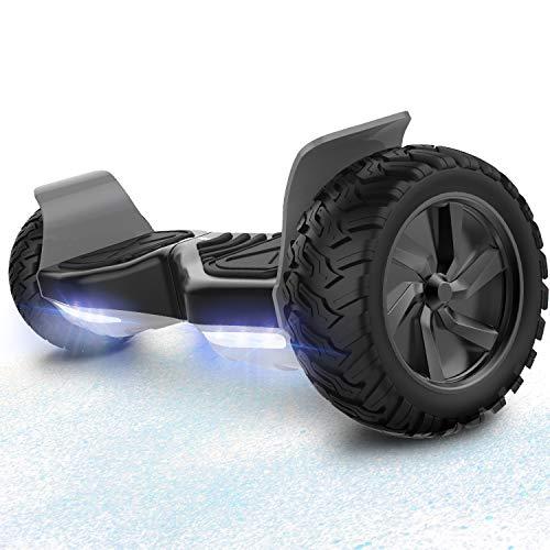 RCB Hoverboard Scooter elettrico fuoristrada Scooter 8.5 '' Hummer LED APP Bluetooth integrato con motore potente 2 * 350W