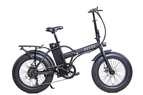 REVOE Dirt Vtc, 553503, Bicicletta Elettrica Pieghevole 20' Misto Adulto, Nero