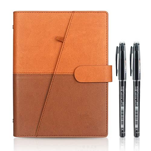 Riutilizzabile Smart Notebook, A5 Cancellabile Taccuino Archiviazione cloud per Alunno Artchitect Giornalista Scrittore(PP-Azzurro)