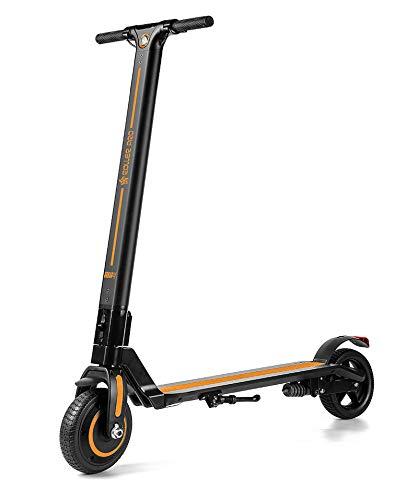 Roller Pro rp-urban4nj Monopattino Elettrico, Motore Brushless 250W, Max. velocità di 24km/H, Pieghevole, Include App, Batteria al Litio, Arancione, 4.0A