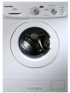 SanGiorgio SES712D lavatrice Libera installazione Caricamento frontale Bianco 7 kg 1200 Giri/min A+++