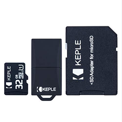 Scheda di memoria Micro SD da 32GB di Keple | per TomTom (Tom Tom) GO 6200, 6100, 6000, 5200, 5100, 5000, 950, 750, 740, 610, 600, 550, 540, 520, 510, 500 Navigatore Satellitare Sat Nav | 32 GB SDHC
