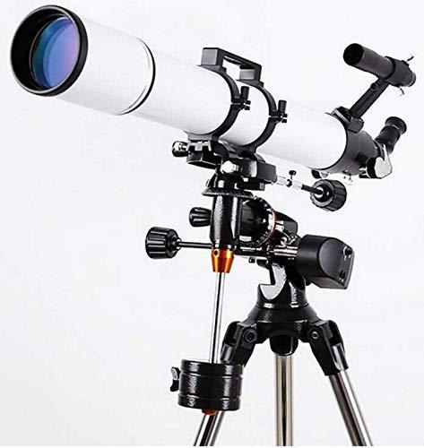 Schützks Telescope - LLL 114EQ Telescopio astronomico per Adulti Visione Notturna HD Tempo Professionale Spazio Profondo Star View Entry