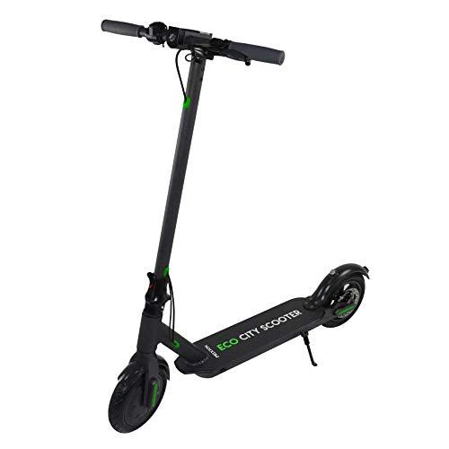 Scooter Elettrico/ Monopattino Elettrico 8,5 pollici, Velocità massima 25km/h, Unisex, Nero | Scooter Eco City SCO850