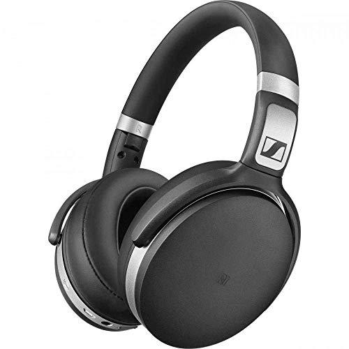 Sennheiser HD 4.50 Cuffia Wireless, Microfonica con Bluetooth, Nero/Argento