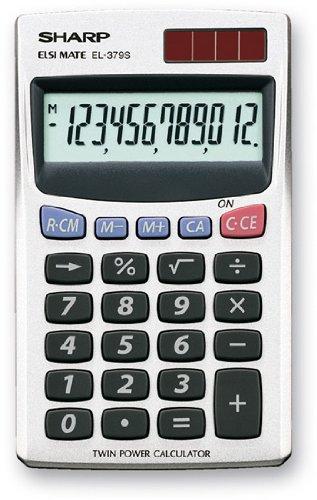 Sharp EL 379 Sb Calcolatrice Tascabile