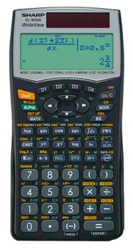Sharp EL W506 Calcolatrice