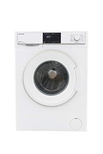 Sharp ES-HFB7143W3 lavatrice Libera installazione Caricamento frontale Bianco 7 kg 1400 Giri/min A+++