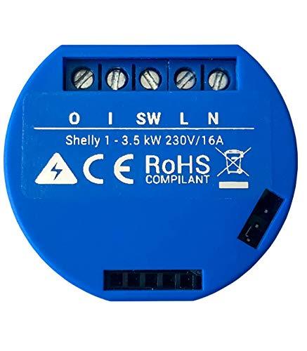 Shelly 1 One - Relè Wireless, WiFi automazione domestica, Shelly1