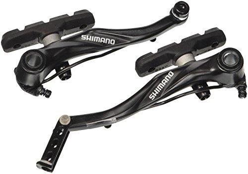 SHIMANO BR-T4000 Alivio W/S65T, Freno V-Brake Unisex Adulto, Nero, Posteriore