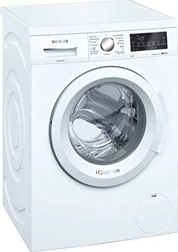 Siemens iQ500 WU12Q468ES Libera installazione Carica frontale 8kg 1200Giri/min A+++ Bianco lavatrice