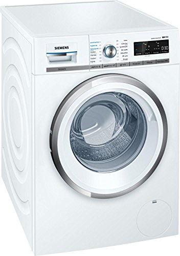 Siemens iQ700 WM14W750FF Lavatrice con carica frontale 9kg, 1400Giri/min, Bianco