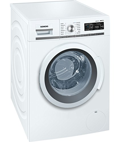Siemens WM14W550 Libera installazione Carica frontale 8kg 1379Giri/min A+++ Bianco lavatrice