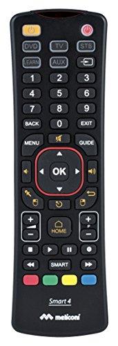 Smart 4 Meliconi, telecomando universale 4in1 con tastiera qwerty integrata, aggiornabile da Internet, con Air Mouse