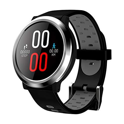 Smart Watch Fitness Tracker Orologio Fitness Braccialetto Activity Tracker Cardiofrequenzimetro da Polso Impermeabile IP67 Smartwatch Pedometro Contapassi Calorie 1.3'' per Uomo Donna iOS Android
