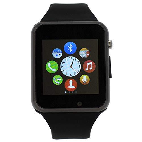 Smartwatch compatibile myPhone Fun 18x9, CEKA TECH® Bluetooth Smart Watch, con fotocamera, touch screen curvo, supporto per scheda SIM/TF, contapassi, sonno
