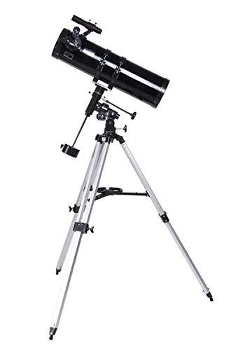 smzzz Telescopio astronomico rifrattore Adulto Portatile riflessione Astronomia HD Alto ingrandimento specialità all'aperto Cielo Stellato Sognare Guarda la Luna Calibro: 150 mm