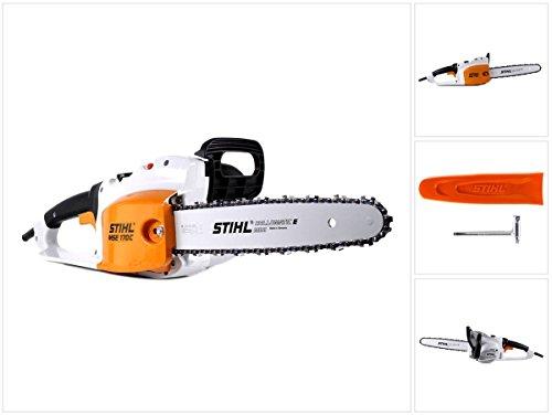 Stihl MSE 170C-Q Motosega elettrica a catena con lunghezza di taglio 35cm + catena 1,1mm (12090114030)