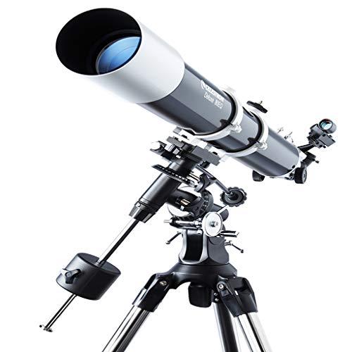 Telescopio Astronomico Professionale Ad Alta Definizione, Lunghezza Focale 900 Mm, Grande Apertura 80 Mm, Telescopio Astronomico Portatile da Viaggio (Adatto per Adulti E Bambini) GH