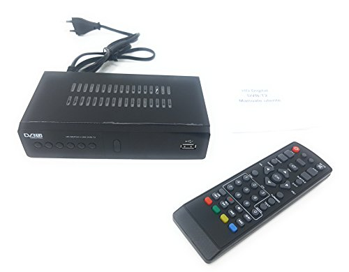 tempo di saldi Decoder Ricevitore Digitale Terrestre HD Dvb t2 USB con Presa Scart Televisione