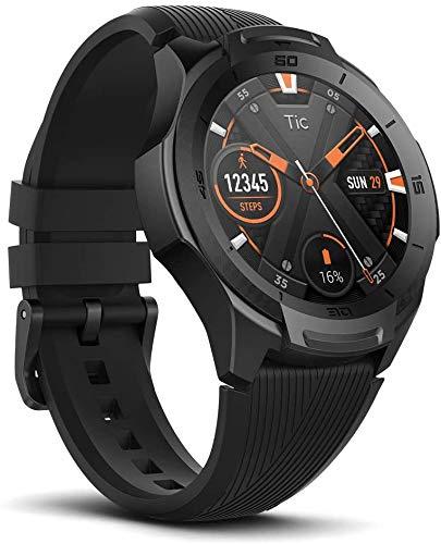 Ticwatch Mobvoi S2, Wear OS di Google, Fitness smarwatch per Avventure all'aperto, 5 ATM Impermeabile e predisposto per Il Nuoto, Durevole, Assitente di Google