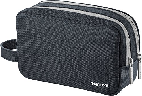 TomTom Custodia Soft Universale per Tutti i Navigatori da 4.3 Pollici, 5 Pollici e 6 Pollici TomTom Start, Via, GO, GO Basic, GO Essential, Rider, GO Professional, GO Camper
