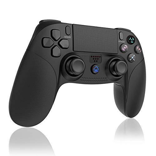 TUTUO Controller Wireless PS4, Classici Bluetooth Controller Gamepad Joystick per Playstation 4 Controller di Gioco Senza Fili con Joypad del Dualshock per PS3/ PS4
