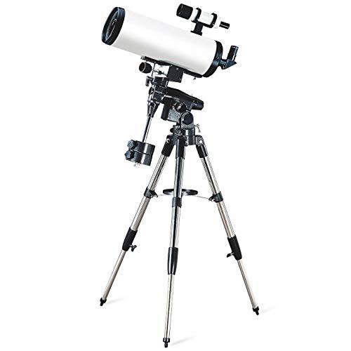Tyueliang-Home Astronomico telescopio 150/1800 EM100 telescopio astronomico HD Spazio Paesaggio Ambito telescopio astronomico per l'astronomia Principianti (Color : White, Size : Focal Length 1800mm)