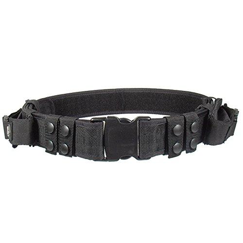 UTG, Cintura con Fodero per Pistola Haevy Duty Elite Law Enforcement Pistol Belt, Nero (Schwarz), Taglia Unica