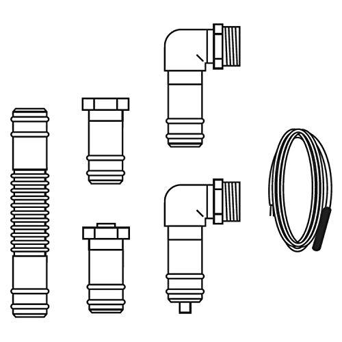 Vaillant 0020143731 Kit Connessione 2 Vfk (135/2 Vd-140/2 Vd), Bianco