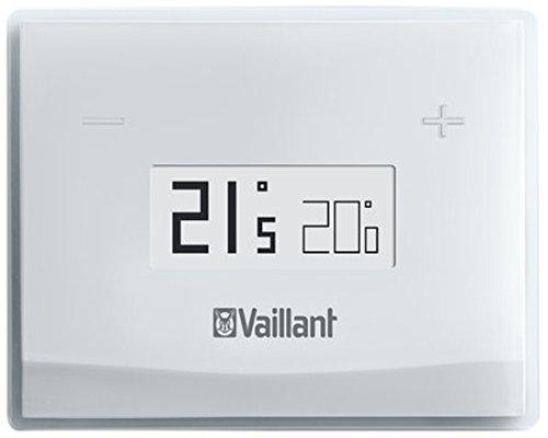 Vaillant 0020197223 Termostato Wi-Fi per Smartphone vSmart, compatibile con apparecchi Vaillant dotati di interfaccia eBus, Bianco