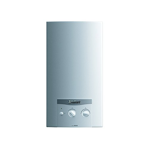 Vaillant ATMOMAG MINI 11-0/1 X Scaldabagno a Tiraggio Naturale ad Accensione Elettronica a Batteria, Bianco