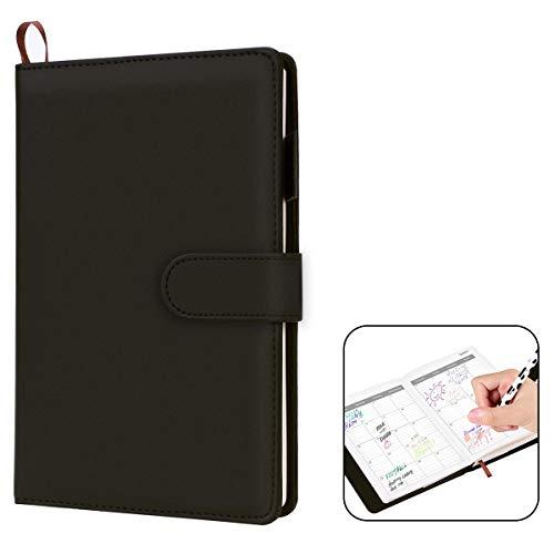 VemMore Taccuino con Righe, Agenda Appunti Per Appunti Pagine Bianche Notebook Diario con Planner