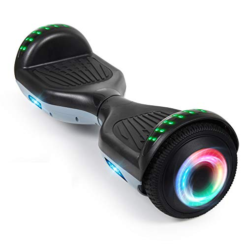 "VEVEpower Hoverboard 6.5"" Self Balance Scooter, Elettrico Autobilanciato Overboard 2 * 300W Motore Elettrico Smart Self Balance Scooter con LED, per Bambini"