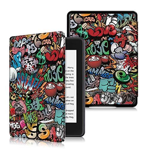 VOVIPO Nuova Smart Cover Premium Paperwhite Kindle, Custodia Flip Slimshell per Il nuovissimo Paperwhite 10th Gen (Uscita 2018)