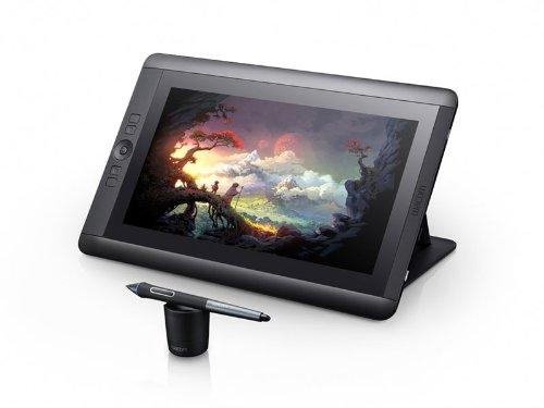 Wacom Cintiq, display interattivo con penna 13HD, versione in lingua inglese - nero