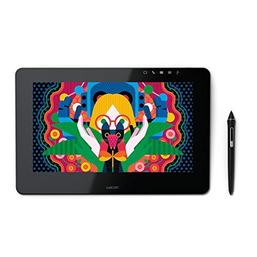 Wacom DTH-1320A-EU Cintiq Pro Display Interattivo Full HD con Penna, Tavoletta Grafica, Pen&Touch 8192 Livelli di Pressione, 13 Pollici, Nero