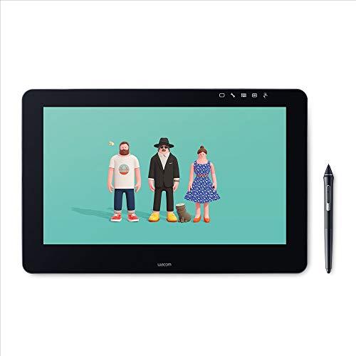 Wacom DTH-1620A-EU Cintiq PRO Display Interattivo Full HD con Penna, Tavoletta Grafica, Pen&Touch 8192 Livelli di Pressione, 16 Pollici, Nero