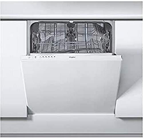 Whirlpool Europe PH WIEB19 Lavastoviglie da Incasso Scomparsa Totale, Metallo, Bianco, 82x59,5x57 cm