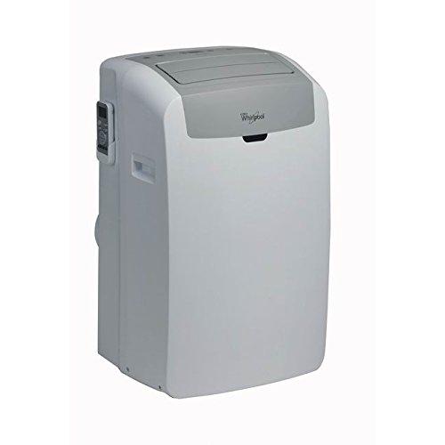 Whirlpool PACW12CO, Climatizzatore portatile, 12000 BTU, classe di efficienza energetica A++, display LED, colore: Bianco