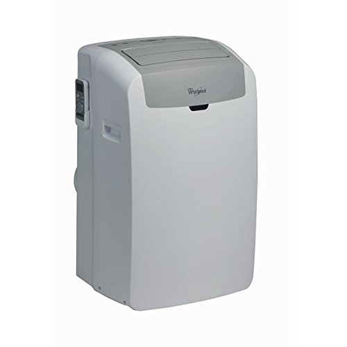 Whirlpool PACW9COL, Climatizzatore Portatile, Classe Energetica A++, 9000 BTU, Display LED, Colore: Bianco