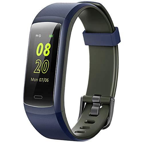 Willful Orologio Fitness Tracker Smartwatch Cardiofrequenzimetro da Polso Impermeabile IP68 Smart Watch Sportivo Android iOS Uomo Donna Bambini Contapassi Braccialetto Pedometro per Samsung Huawei