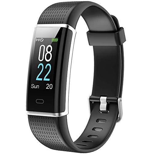 Willful Orologio Fitness Tracker Uomo Donna Smartwatch Cardiofrequenzimetro da Polso Impermeabile IP68 Smart Watch Contapassi Calorie Sportivo Smartband per Android iOS Xiaomi Huawei Samsung iPhone