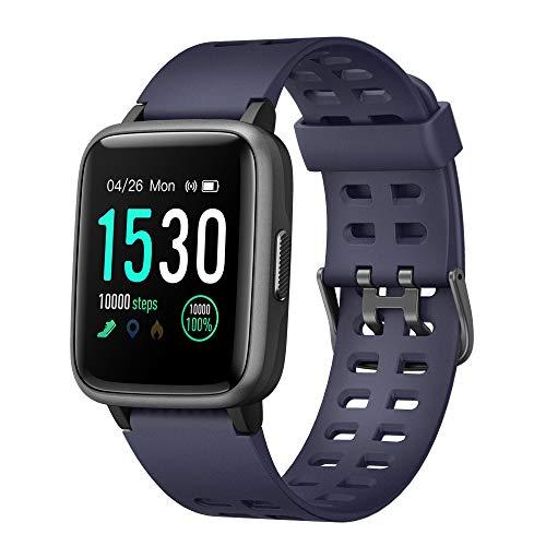 Willful Smartwatch Orologio Fitness Uomo Donna Impermeabile IP68 Smart Watch Cardiofrequenzimetro da Polso Contapassi Smartband Activity Tracker Bambini Cronometro per Android iOS Huawei