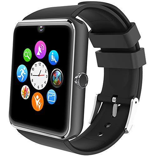 Willful Smartwatch Telefono Touch con SIM Slot Smart Watch Android Wear Orologio Fitness Uomo Donna WhatsAPP Notifiche Fitness Activity Tracker Contapassi Smartband Sport per Samsung Huawei Xiaomi