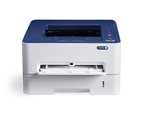 Xerox 3260V_DNI Stampante Laser, Wi-Fi, Grigio/Blu